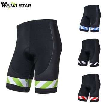 Weimostar Men's 3D Gel Padded Lycra Cycling Shorts ciclismo Quick Dry Bike Shorts MTB Bicycle Outdoor Sports Cycling Clothing