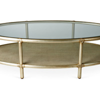One Kings Lane - Beauty Through & Through - Ellipse Cocktail Table