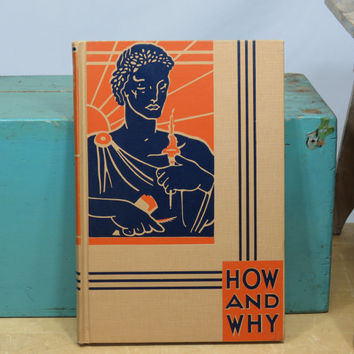 The How and Why Library Heroes Vintage Book 1950 Children's Stories Hero Unit