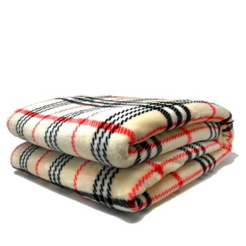 Tache 50 x 60 Inch Super Soft Ritz Flannel Throw Blanket