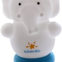 Kinderglo Portable Fun and Safe Rechargeable Night Light, Elephant