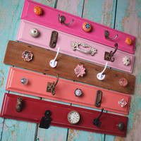 Colorful Storage Hook Rack Display  Pick one by bluebirdheaven