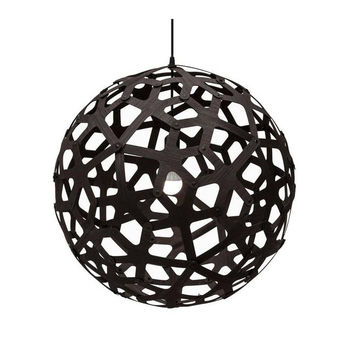 David Trubridge Black Coral Pendant Light