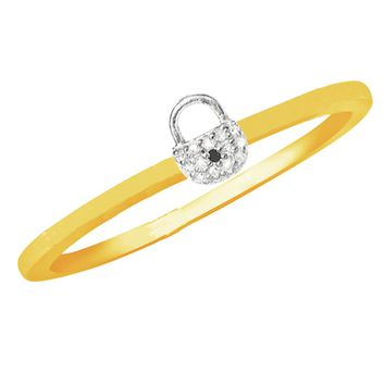 Little Lock Secure Diamond Ring - More Colors!