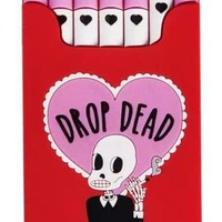 Drop Dead Cigarette Silicone iPhone Case