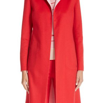 Akris Palma Double Face Cashmere Reversible Coat | Nordstrom