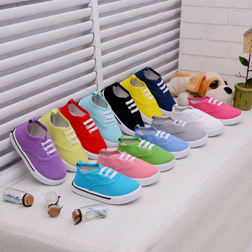New Born Canvas Sports Shoes