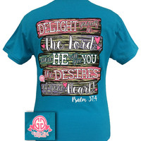Girlie Girl Originals Faith Delight yourself in the Lord T-Shirt