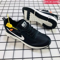 Nike Air Zoom Structure 21 x Off White White Black Running Shoes - Best Deal Online