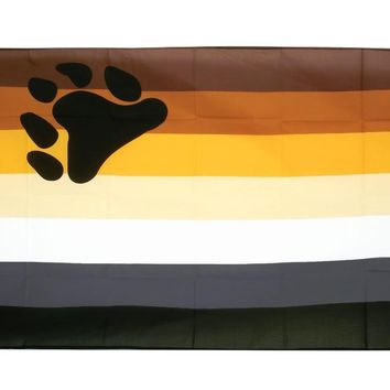 johnin hanging 90*150cm LGBTQIA bear brotherhood gay pride Flag For Decoration