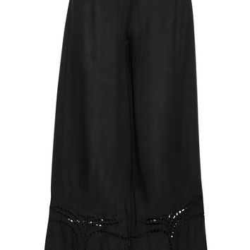 Vix - Peggy embroidered voile pants