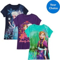 Walmart: Disney Frozen Girls Graphic Tee, Your Choice