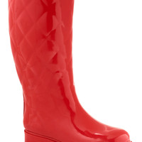 Splash Hurrah Rain Boot in Red | Mod Retro Vintage Boots | ModCloth.com