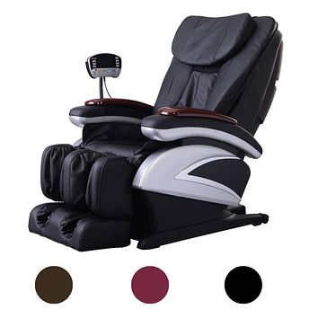 Shiatsu Massage Chair, Recliner Heated Foot Rest