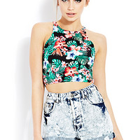 Tropic Escape Crop Top