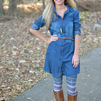 Blue Jean Baby Denim Tunic