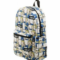 NEW Bethesda Fallout 4 Vault Boy Sublimated Backpack Book Bag
