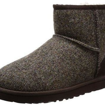 UGG Australia Mens Mini Tweed Boot ugg snow rain boots