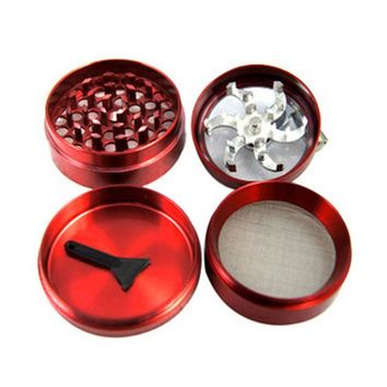 Four Layers Aluminium Grinder
