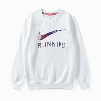 CREYV9O Nike round collar hoodie lovers and men's and women's leisure cotton long-sleeved t-shirts top G-A-GHSY-1