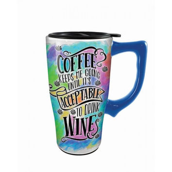 Coffee & Wine Travel Mug