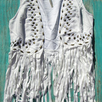 Western Fringe Vest | Elusive Cowgirl - Western Wear, Cowgirl Clothing, Cowgirl Sunglasses