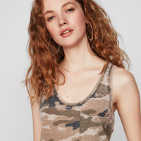 Express One Eleven Camo Easy Pocket Tank