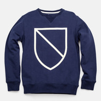 Bowery Shield Crew Neck Sweatshirt     | Saturdays
