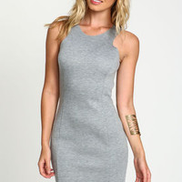 Neoprene Zip Down Dress - LoveCulture
