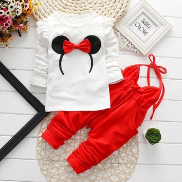 Newborn Baby Girl Clothes 2017 Summer Flying Sleeve Tops + Polka Dot Shorts Cotton 2PCS/Set Baby Girl Outfits Kids Bebes Suits