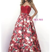 Blush 5625 Sweetheart Prom Ball Gown