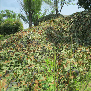 2X3M Hunting Jungle Cover Camouflage Woodland Multi-purpose Camo Netting Camping