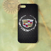 Cadillac Car Logo-iPhone 5 , 5s, 5c,4s, 4 case,Ipod touch 5, Samsung GS3, GS4 case - Silicone Rubber or Hard Plastic Case, Phone cove