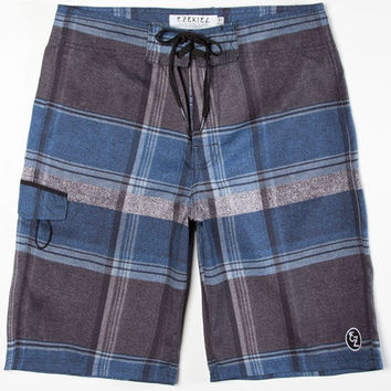 Ezekiel Troubled Waters Mens Boardshorts Blue  In Sizes