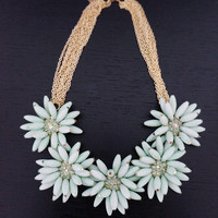 Floral Statement Necklace | Pretty EDGY
