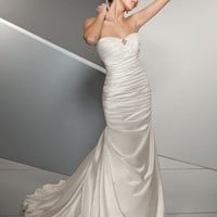 Trumpet Sweetheart Floor Length Gown with Satin 4501 $139.57 only in eFexcity.com.