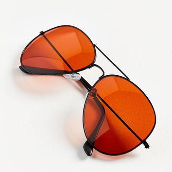 Vintage Deadstock Filter Aviator Sunglasses | Urban Outfitters