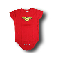 Wonder Woman Logo Infant Onesuit