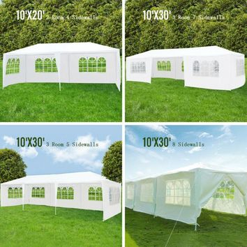 10'x30'/10'x20' Party Wedding Tent, Outdoor Gazebo Canopy