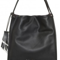Boutique 1 - PROENZA SCHOULER - Black Soft Leather Tote Bag | Boutique1.com