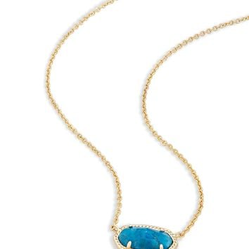 Kendra Scott Elisa Aqua Apatite Necklace