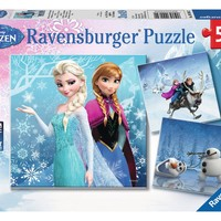 Disney Frozen - Winter Adventures - (3 x 49) Piece Jigsaw Puzzles
