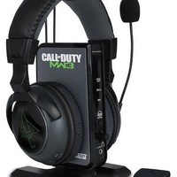Turtle Beach Call of Duty: MW3 Ear Force Delta: Limited Edition Programmable Wireless 7.1 Surround Sound Gaming Headset