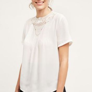 Atelier Camille Bessie Blouse in Ivory Size: