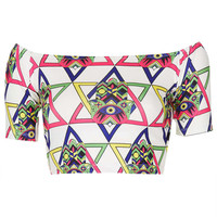 **Hamsa Crop Top by Kuccia - New In This Week - New In - Topshop USA