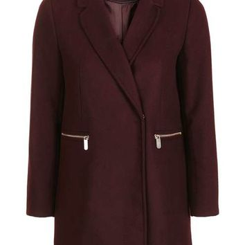 PETITE Zip Pocket Coat - New In This Week - New In