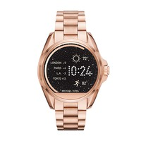 Michael Kors Access Unisex 45mm Rose Goldtone Bradshaw Touchscreen Smart Watch