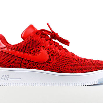 Nike Men's Air Force 1 Low Ultra Flyknit University Red