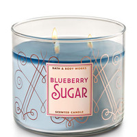 BLUEBERRY SUGAR3-Wick Candle