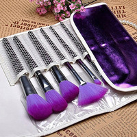 16 PCS Makeup Brush Set + Purple Pouch Bag H4450